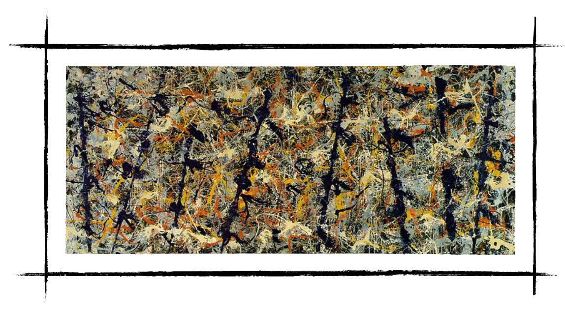 Jackson Pollock's Hymn To Freedom: Action Painting
