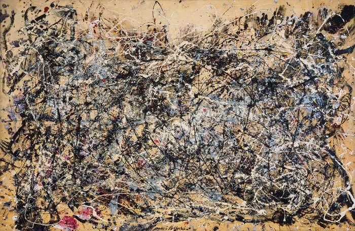 Carl Kruse Art blog - Jackson Pollock Number 1A