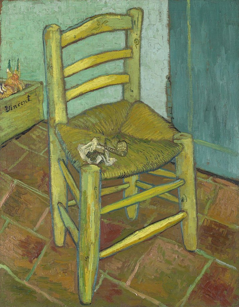 Carl Kruse Art Blog - Image of Van Gogh's Chair