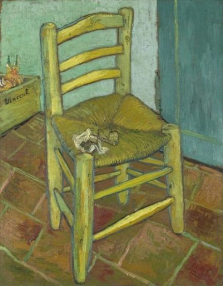 Van Gogh's Chair: Omens of Tragedy