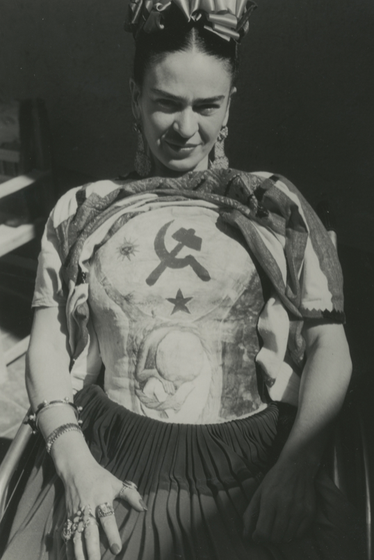 Carl Kruse Art Blog - Frida and hammer and sickle