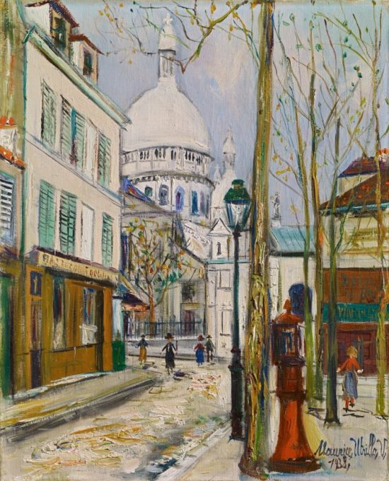 Reflections of Montmartre